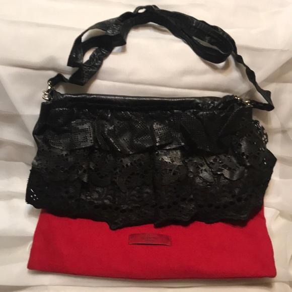 95bc8363060 Valentino Leather Ruffle-Accent Crossbody Handbag!  M_5c773f631b3294cd01087b93